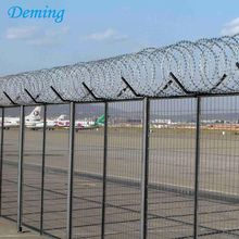PVC coated 3D airport security fence requirements