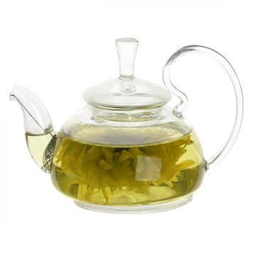 17.5oz Glass Teapot with Glass Infuser