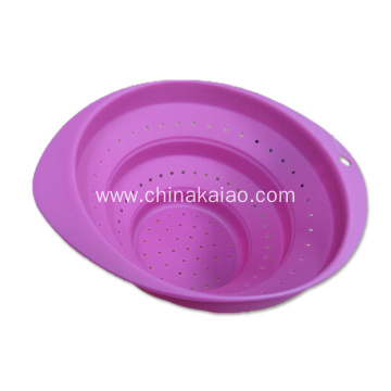 Vegetable Steamer Silicone Collapsible Colander