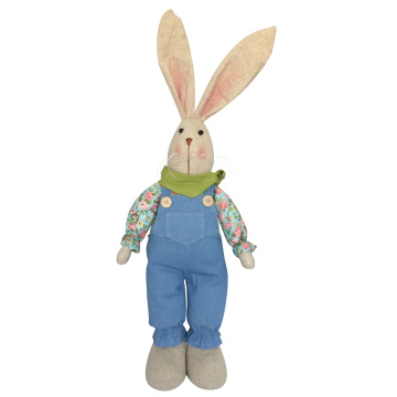 Easter stuffed bunny animal toy for kids