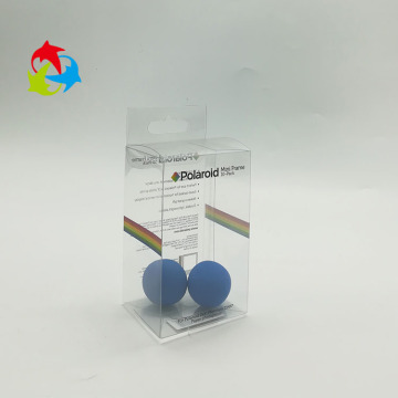 Disposable clear PET plastic folding box