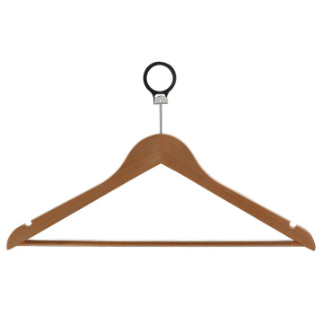 Luxury European Clothes Hanger Wooden Hotel Hanger