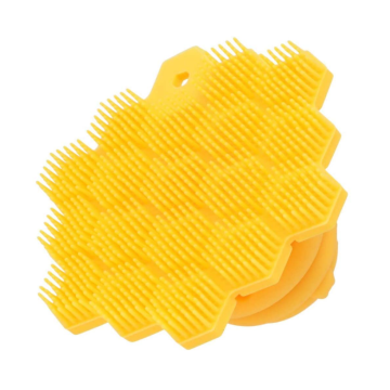 Easy Grip Handle 100% Silicone Scrubber for Children