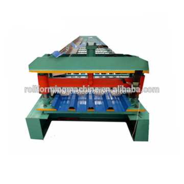 Steel Trim Deck Roofing Sheet Roll Forming Machine