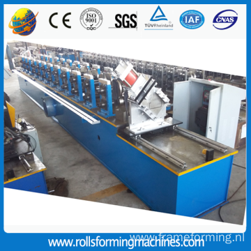 Customized steel frame purline roll forming machinery