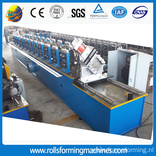 Manual Purlin Roll Forming Machine