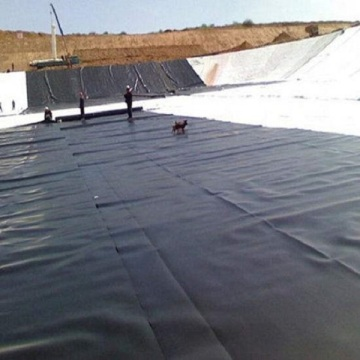 hdpe geomembrane used for lake and dam