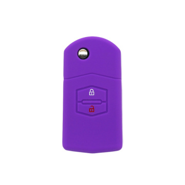 Wholesale silicone auto Mazda car key case cover