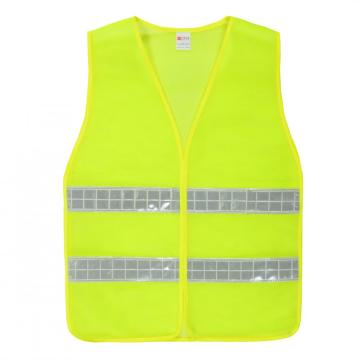 Warning reflective waistcoat for traffic