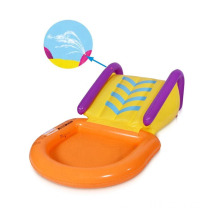 inflatable Kid Wading Pool With Slide