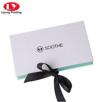 magnetic lid jewelry gift box VIP card packaging