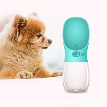 Compact Size 350ML Dogs Feeding Water Bottle