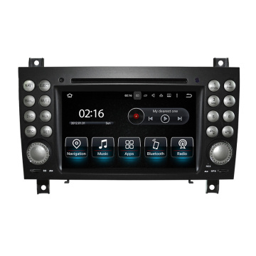 7inch Touch Screen Android System for Benz