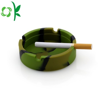 Fancy Cigarette Colorful Silicone Ciga Smoking Ashtray