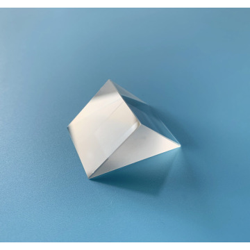 90° BK7/CaF2/Fused Silica Glass Right Angle Triangle Prism