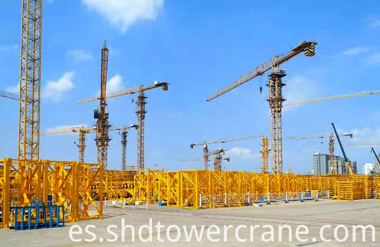 High Quality 10ton Topless Tower Crane