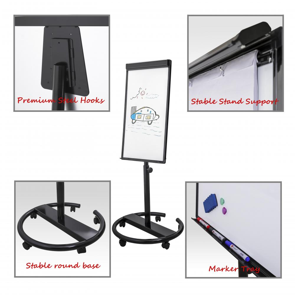 Adjustable In Height Flipchart easel