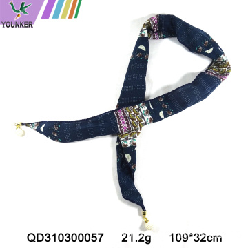 MATURE DESIGN POLYESTER SCARF