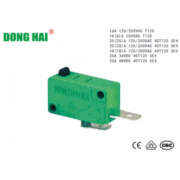 Electrical Door Mini Micro Switch 10A