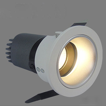 Deep anti-glare LED wall washer spotlight hotel room