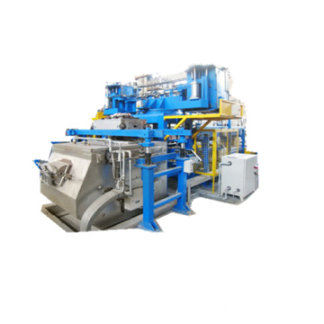 A Line of Low Pressure Die Casting Machinery