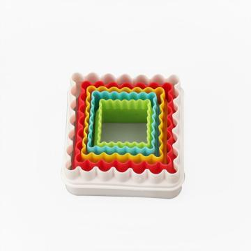Square Cookie Cutter Set Biscuit Mould