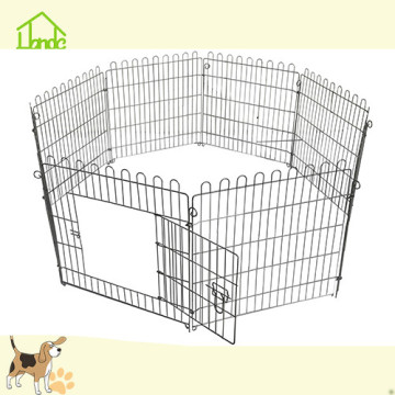 Metal dog fence panels
