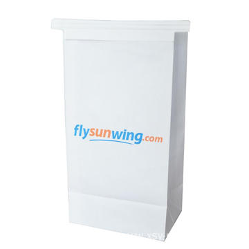 airline sickness paper  bag