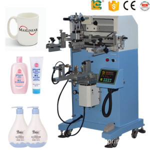 Regular shape cylinder screen printing machine
