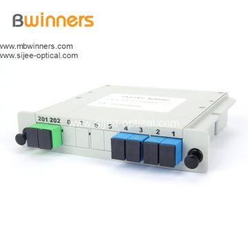 2X4 SC/Apc Lgx Cassette Type Fiber Optic Splitter
