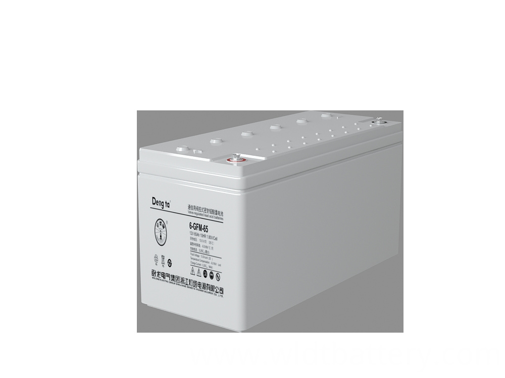 Lead Acid Battery, Valve Regulated Sealed Battery, 12V 65Ah Battery