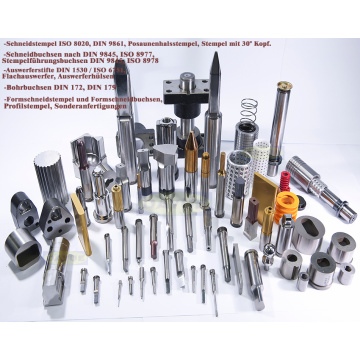 Schneidstempel ISO 8020 DIN 9861 Punches and Dies