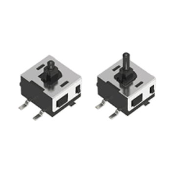 One-way Action Switch with Slide Bar Height 3.3mm