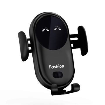 10W Wireless Charger Car Phone Holder Qi Induction Smart Sensor Fast Charging Stand Mount For Samsung S10 Note 10 iPhone 11 Pro