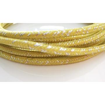 Yellow White Cable Cotton Shielding Sleeve
