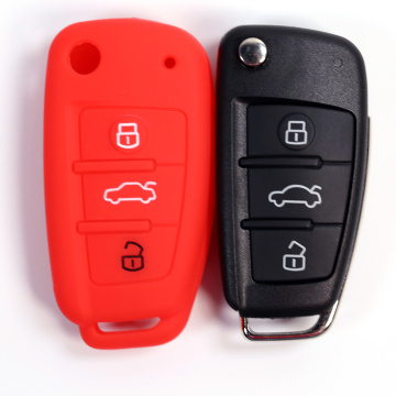 2019 3 button audi car key fob cover