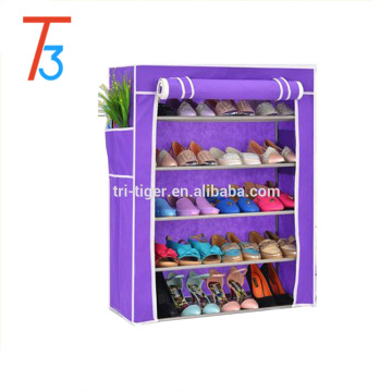 New 5 tier metal shoe cabinet shoe storage closet