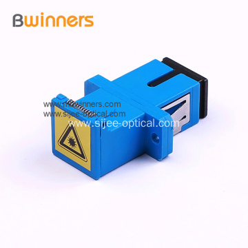 Sc/Apc SC/PC Fiber Optic Adapter with Shutter