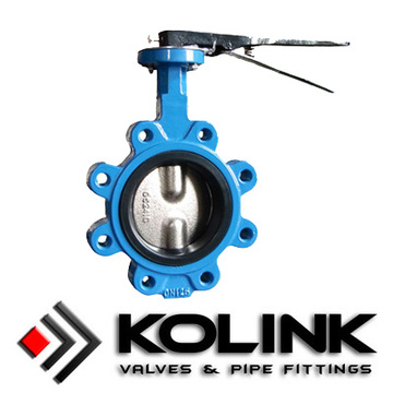 Pinless Center Line Butterfly Valve