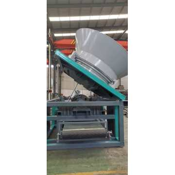 Fully automatic disc wood crusher