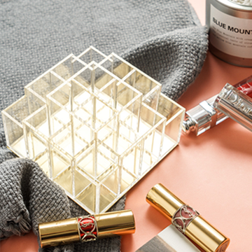 Acrylic Lipstick Holder 16 Slots