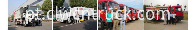 waste management trucks technical service