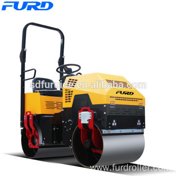 Double Drum Vibrating 1 Ton Dynapac Road Roller (FYL-880)