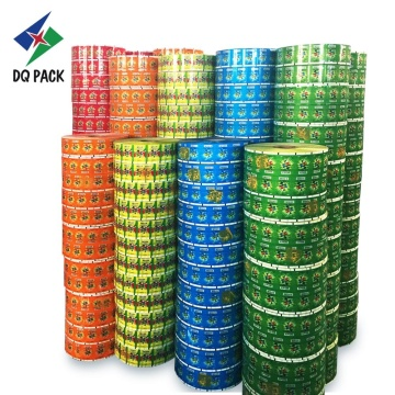 Lollipop film roll stock candy packaging film roll