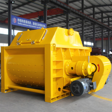 JS twin-shaft small batch concrete mixer