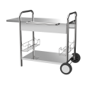 Stainless Steel Outdoor Plancha Trolley