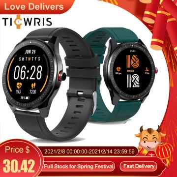 TICWRIS RS Smart Watch Men 1.3 inch TFT Touch Screen IP68 Waterproof Bluetooth 5.0 Heart Rate Monitor Fitness Tracker Smartwatch