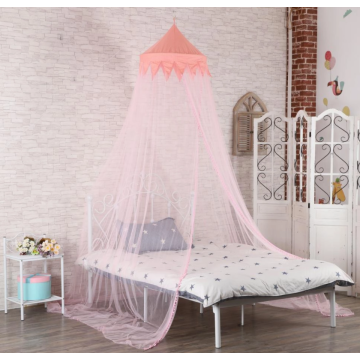 Pink girl dome mosquito net for bedroom