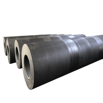 Low Consumption Graphite Electrode UHP500 With Nipples