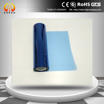 transparent blue PET film for X Ray